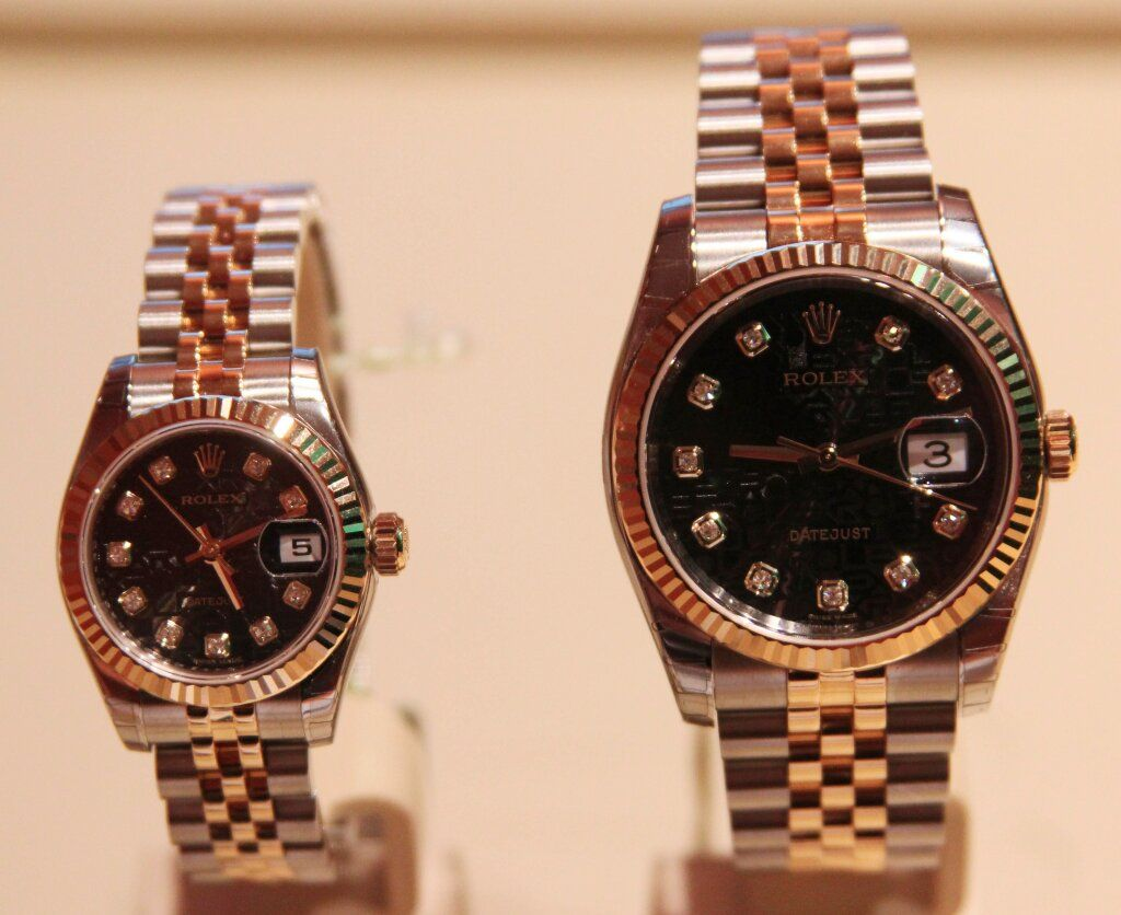mens and womens matching rolex colton i someday