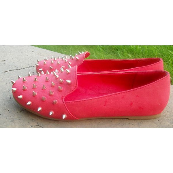 l MyHotShoes Street Style l Girls & Spikes via Polyvore