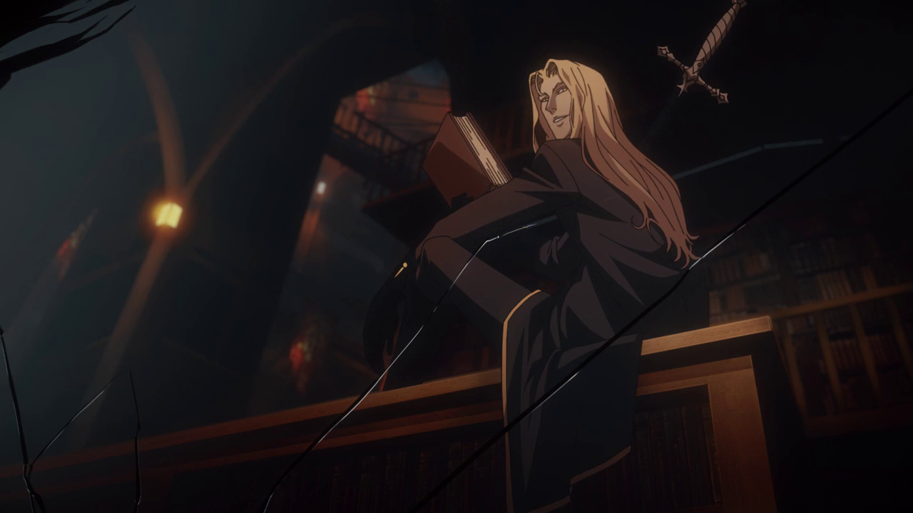 Castlevania by Catherine Clements Alucard, Gothic anime