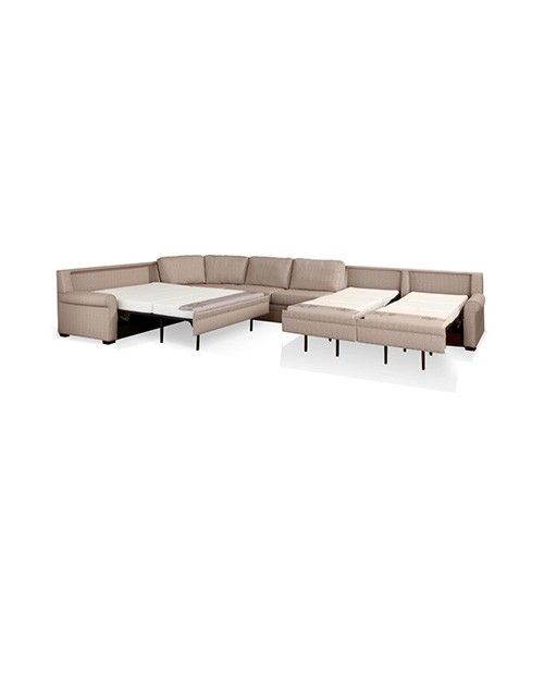 Large sectional sofa with sleeper | Things for dream house ...