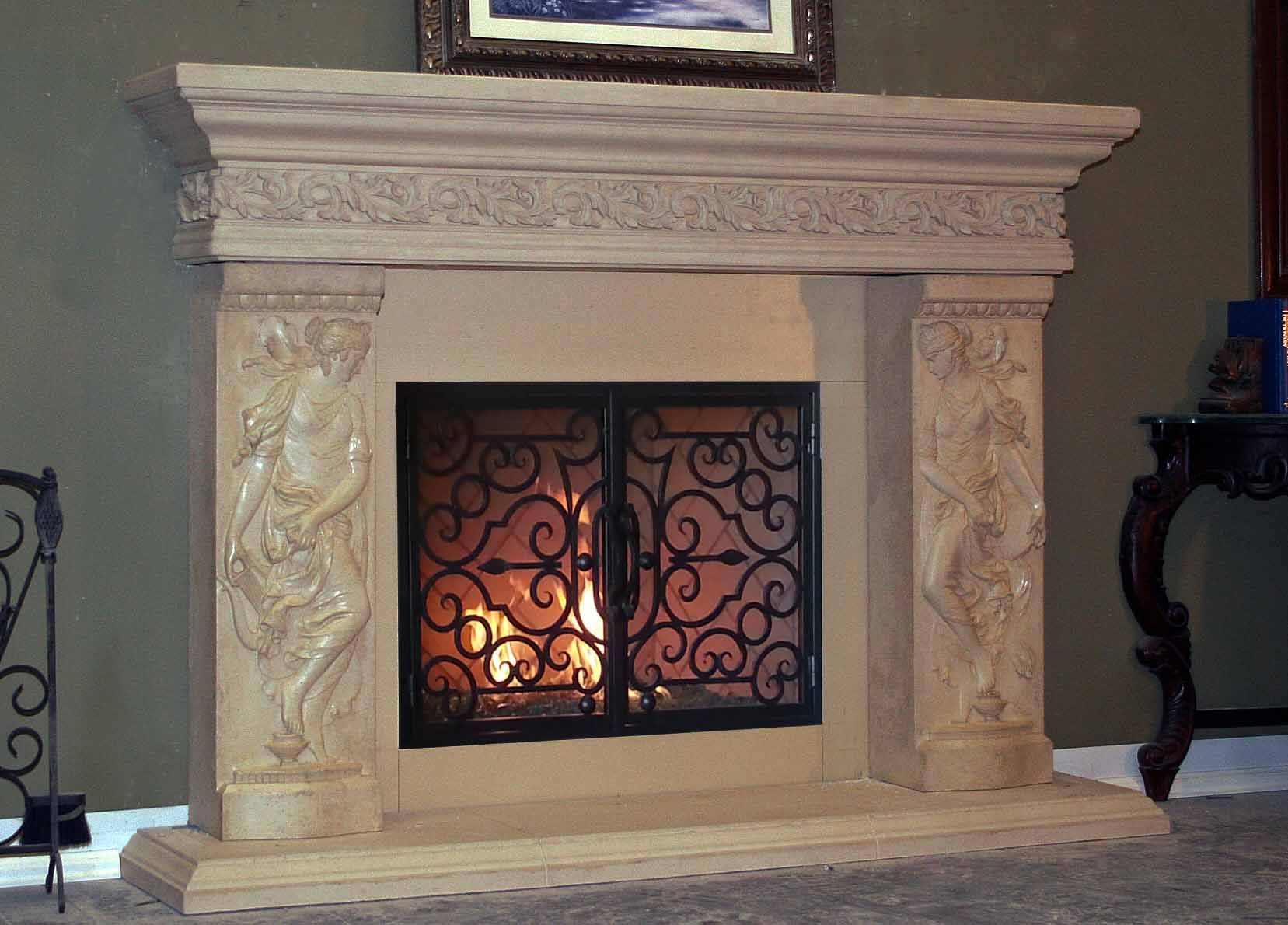 Mt715 Fireplace Mantel Picture With Images Fireplace