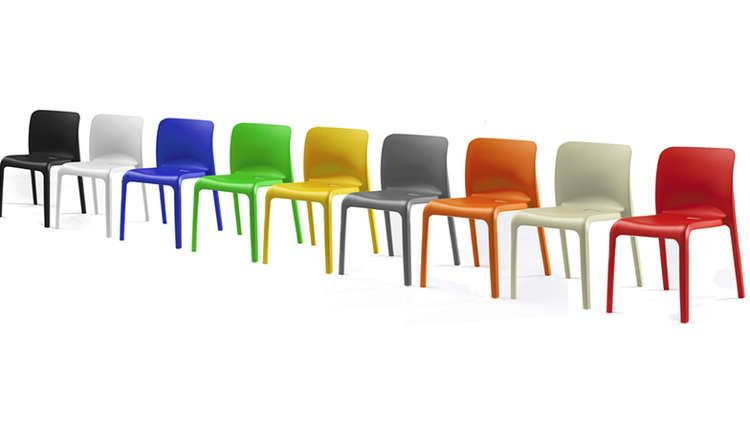 Emo chair in 2020 plastic dining chairs colored dining
