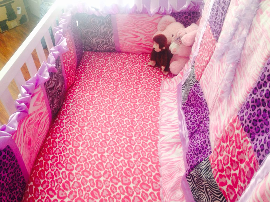 Homemade animal print baby quilt set Baby prints, Quilt