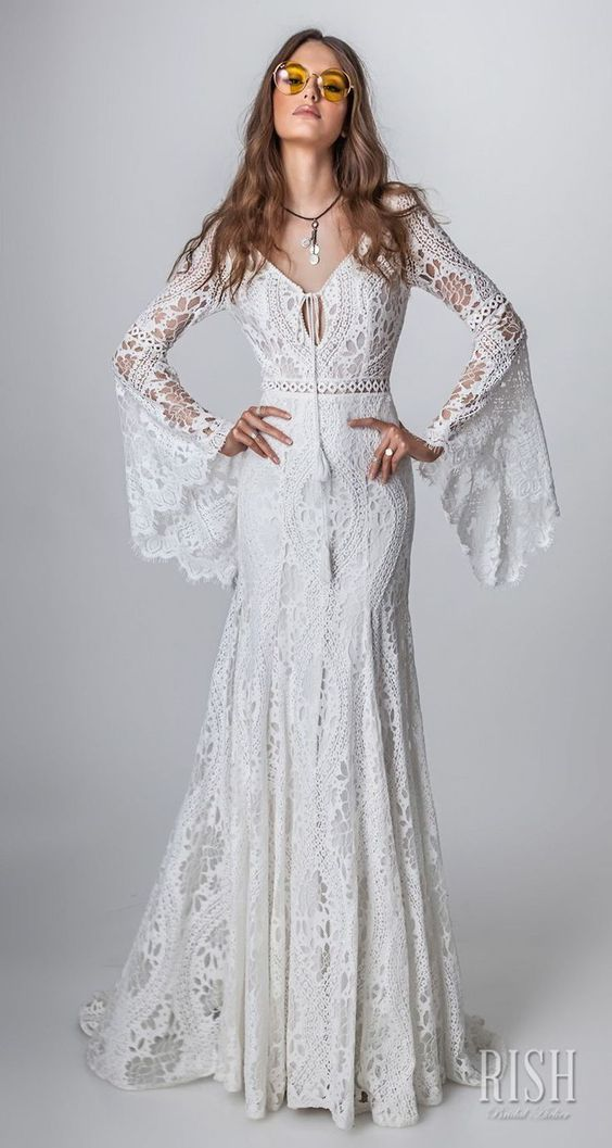 "Rish Bridal 2018 ""Sun Dance"" Collection — Boho Chic Wedding Dresses Worth Swooning Over"