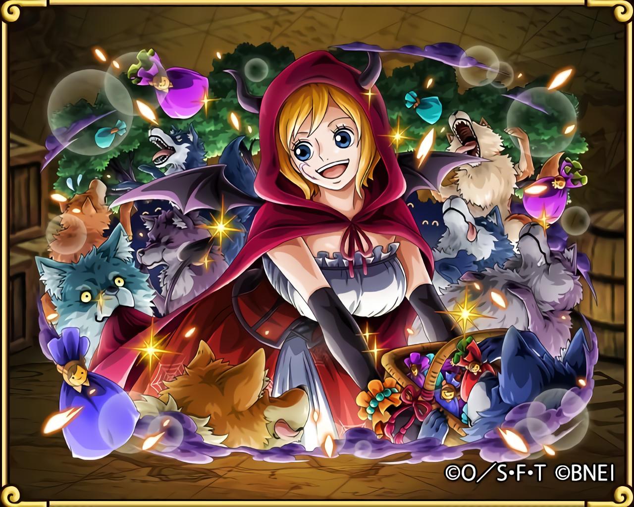 コアラ 施しの赤ずきん happy halloween トレクル エース ワンピース コアラ
