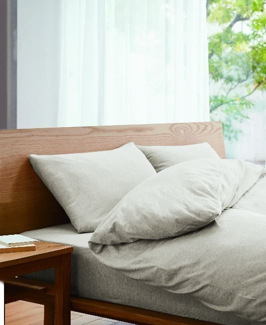 Your Organic Bedroom: Nature In Your Bedroom. MUJI Organic Cotton Bedding