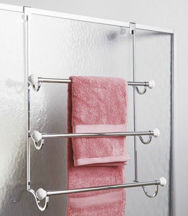 Ideas For Hanging & Storing Towels In A Tiny Bathroom  Tiny Classy Storage For Towels In Small Bathroom Decorating Inspiration