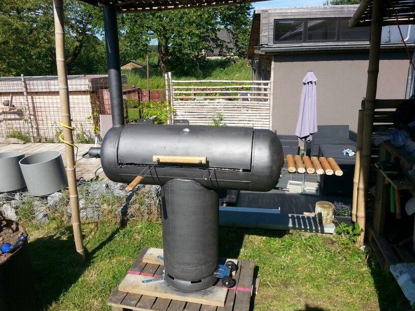 DIY Gas Bottle BBQ Jardin Pinterest Bottle Stove