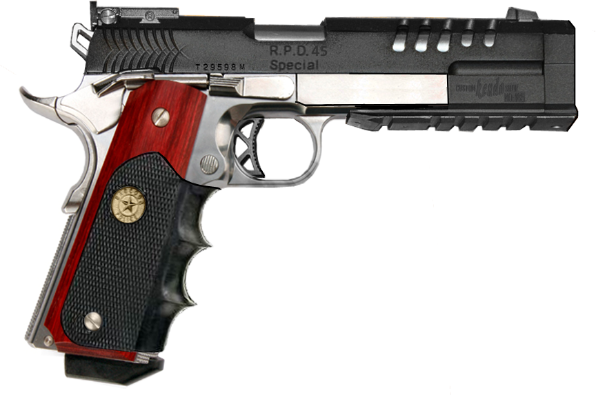 Colt M1911 Kendo RPD Custom by RedZaku on deviantART