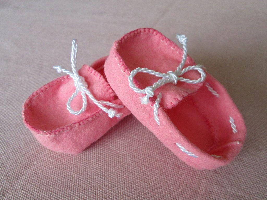 moldes para hacer zapatitos de bebe en tela - Cerca con Google