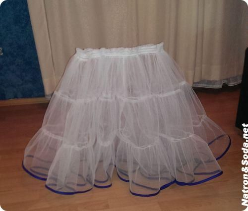 Tutorial: Petticoat - Photos with link at bottom to tutorial