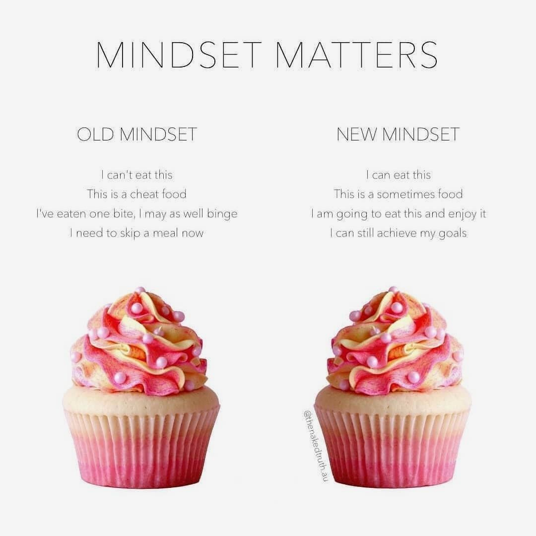 Change Your Mindset Its Normal To Want To Eat Sweets And Treats Every Now And Then So You Shouldnt Beat Yourself Up For Intuitive Eating Food Mindful Eating
