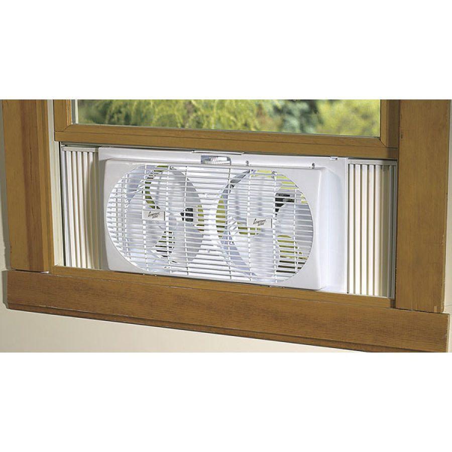 Portable twin window fan window fans home appliances home