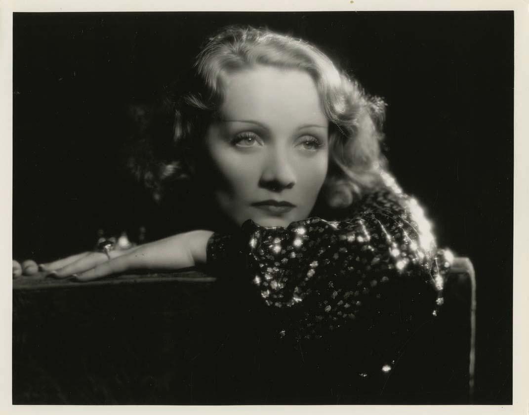 Marlene Dietrich, Shanghai Express, 1932; photo by Eugene Robert Richee