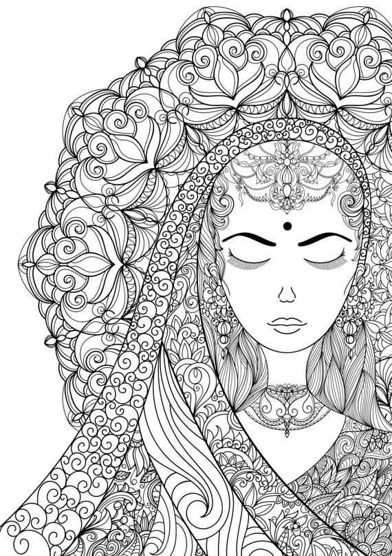 Pin de Coloring Pages for Adults en Coloring Pages for Adults ...