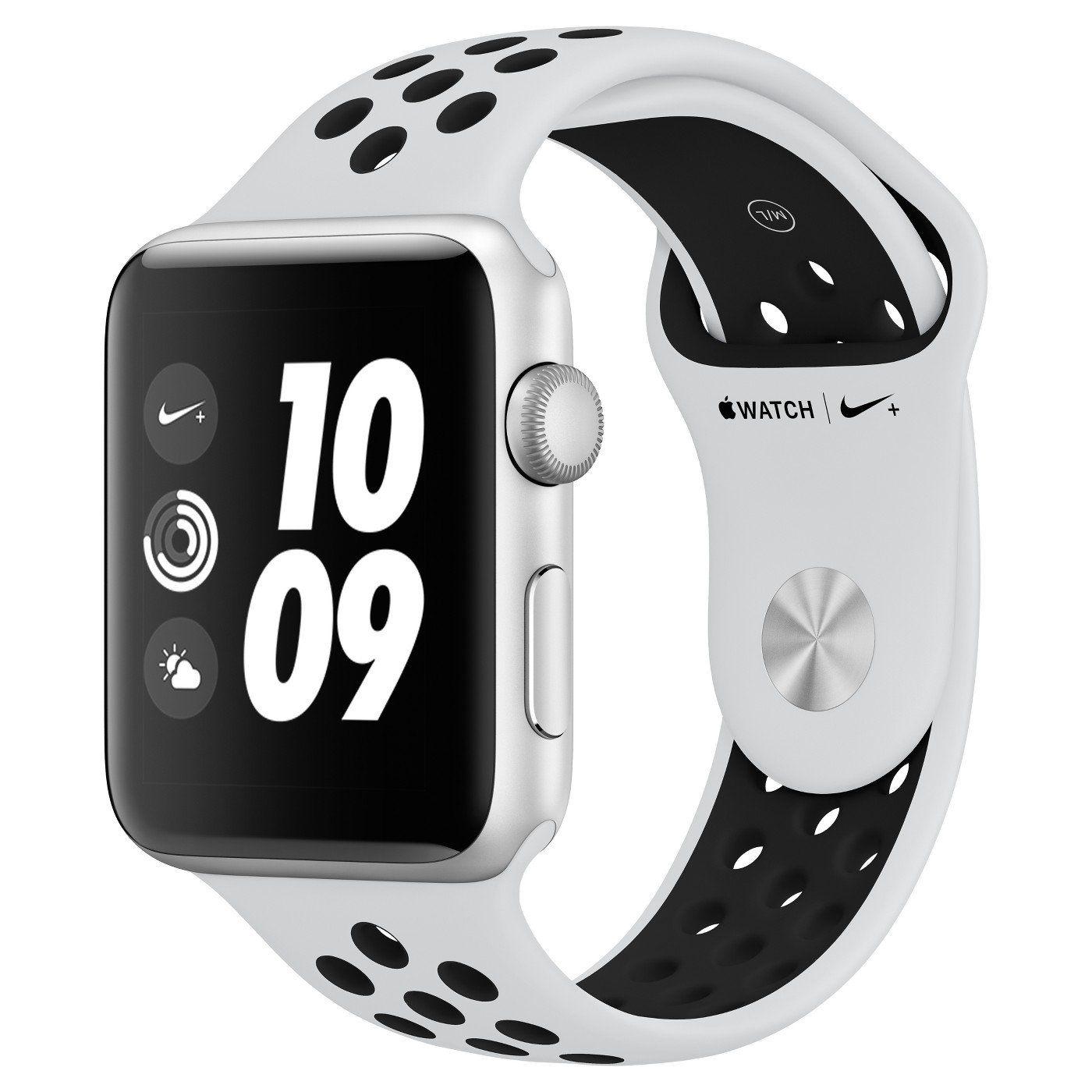 Apple Watch Nike+ Series 3 (GPS), 38mm Silver Aluminum