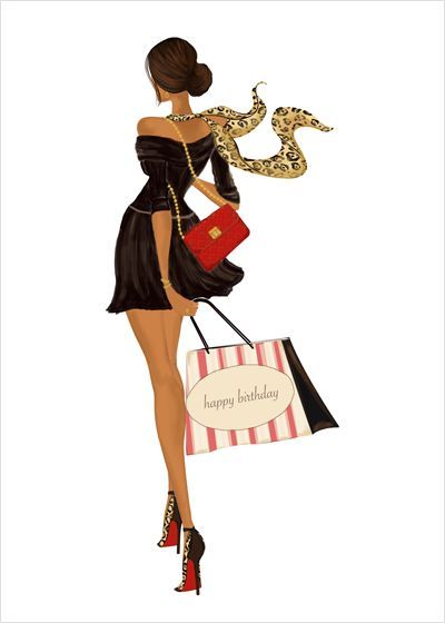 Birthday Bag Design Beautiful African American Art African