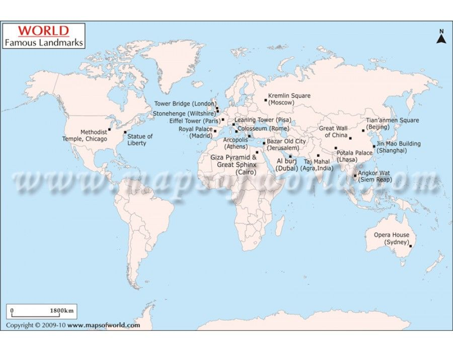 Buy world famous landmarks map online download online world map buy world famous landmarks map online download online gumiabroncs Images