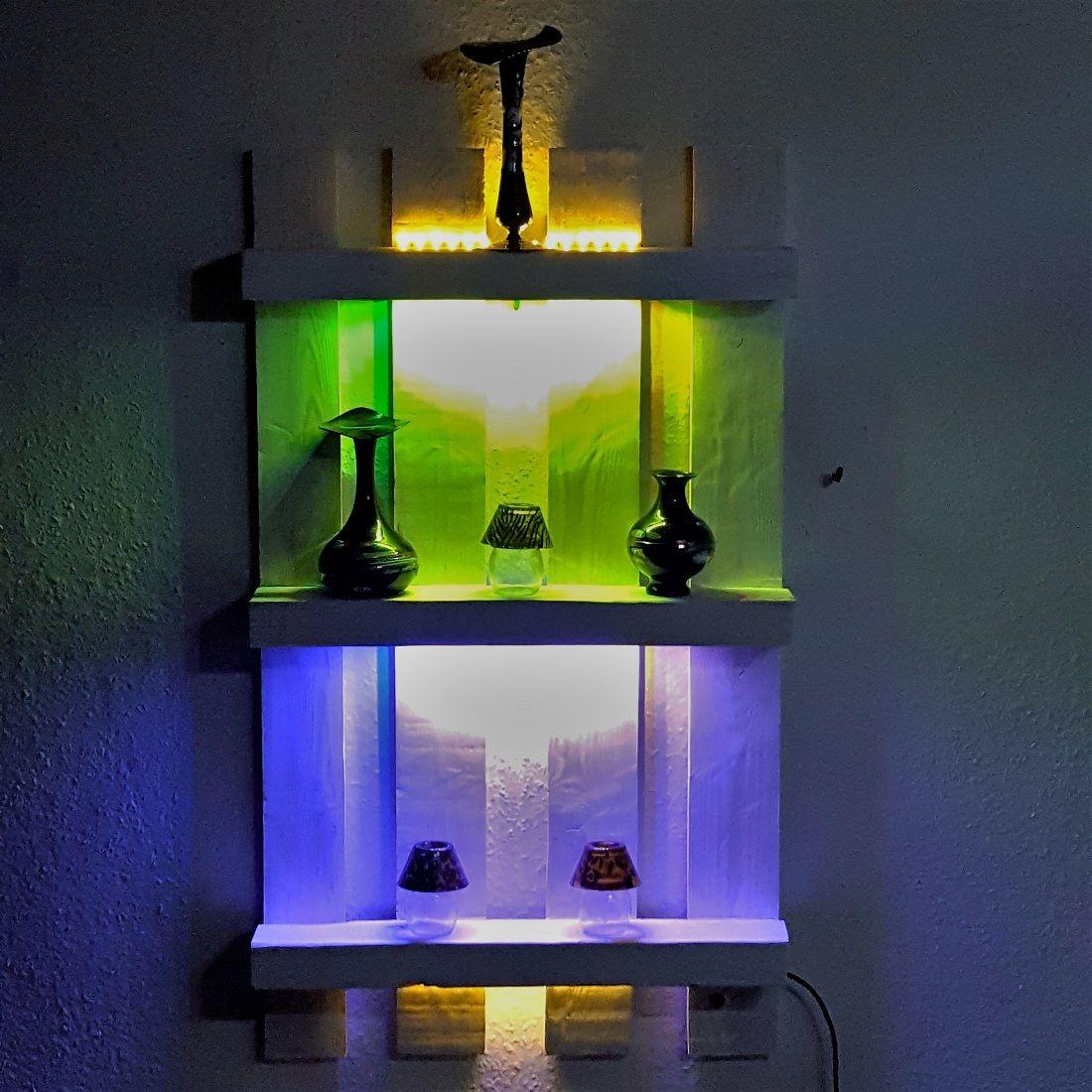 Wandregal Mit Led Beleuchtung Led Beleuchtung Beleuchtung Und Led