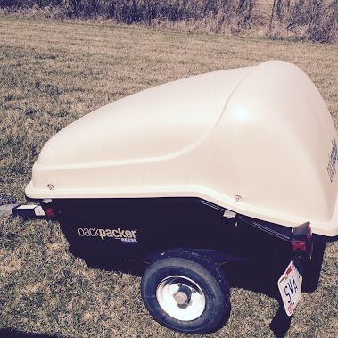 Reese Model 750 Backpacker Trailer: | Things to sell or Trade | Ford