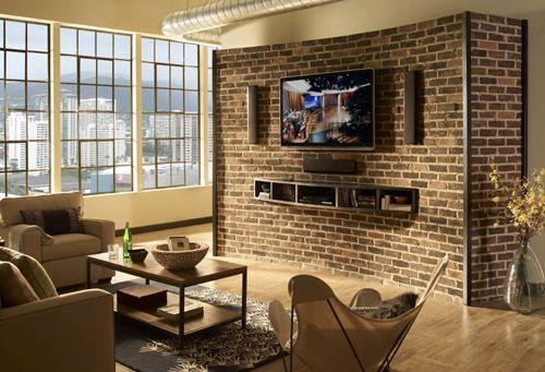 Awesome Indoor Brick Veneer Ideas - Amazing House Decorating Ideas .