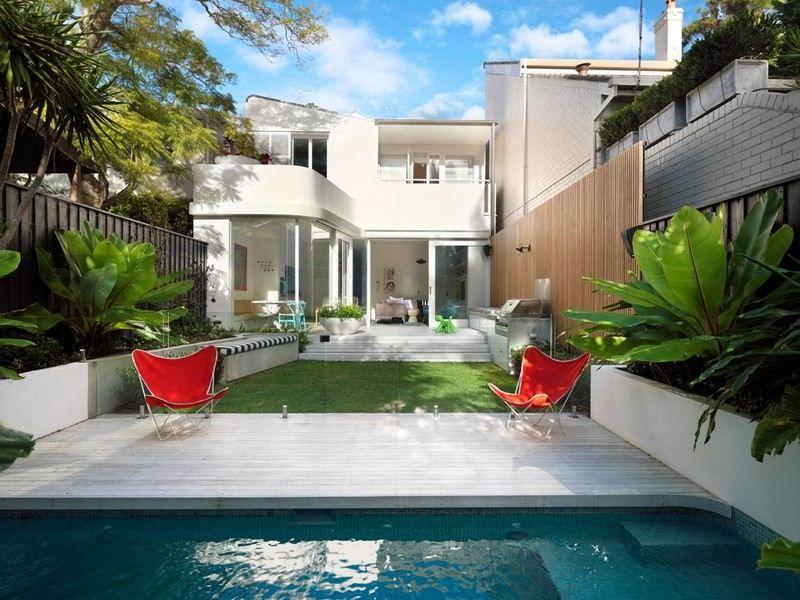 Amenagement Petit Jardin Avec Piscine aménagement petit jardin dans l'arrière-cour–idées modernes