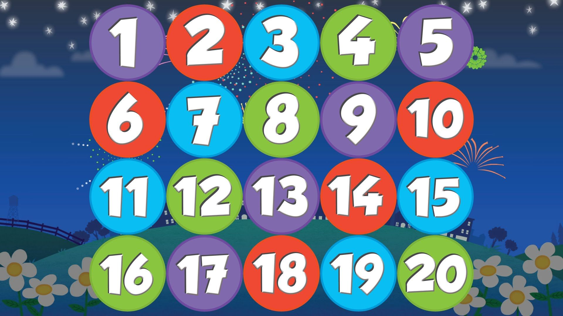 Count Backwards From 20 To 1 With Count Down And Move March Jump Or Hop Around The Room As
