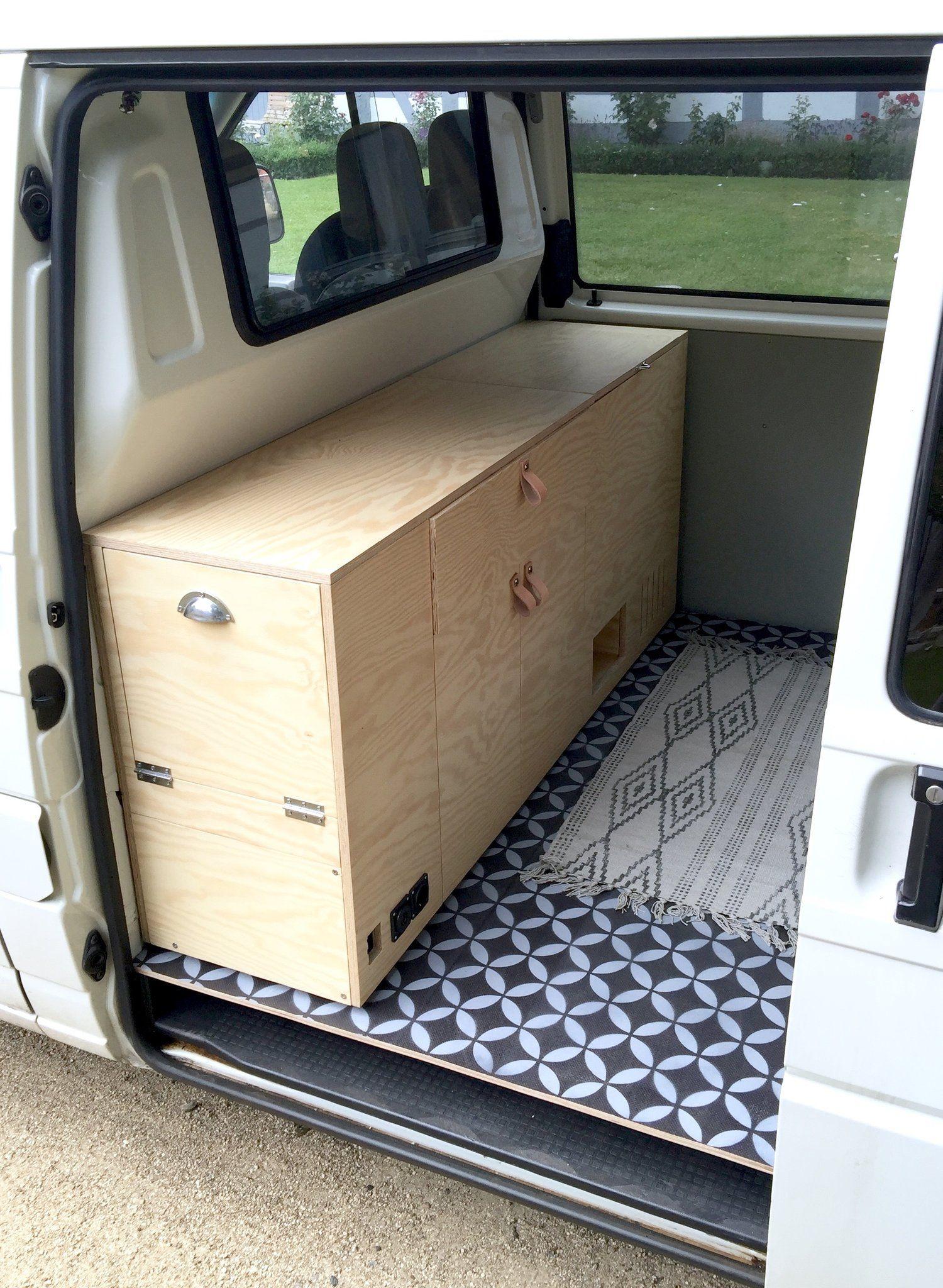 RAUMKUNSTBUS #2 - Der Ausbau   Schubladen, Elektro und Stehen