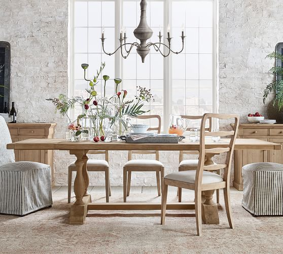 Parkmore Reclaimed Wood Dining Table Amp Mabry Chair Dining