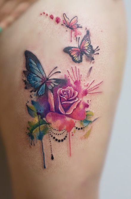 Image result for wat Image result for watercolor tattoo ...
