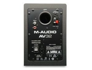 M-Audio AV32 Professional Studio Monitor Speakers are a great value for any media creation, gaming, video editing or just listening to your favorite tunes with professional audio at a more than affordable price!