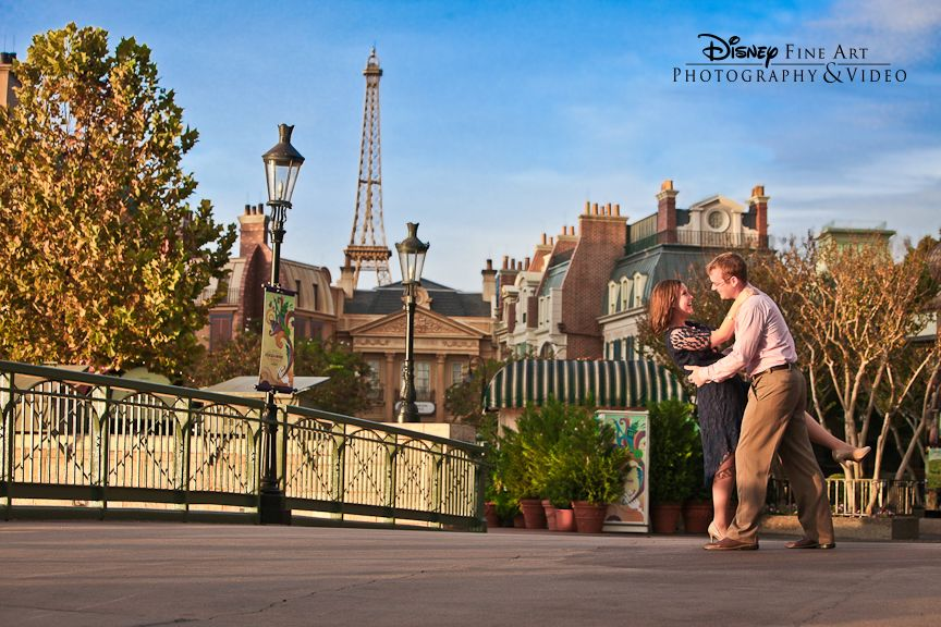 Audrey Hepburn Said Paris Is Always A Good Idea We Think Epcot Is Too Disney Engagement Epcot Disney Engagement Disney Photography Disney World Wedding