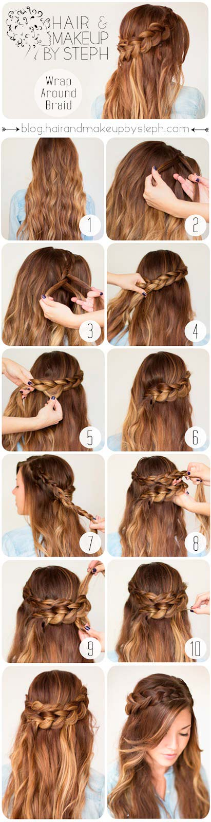 15 Quick And Easy Everyday Hairstyle Ideas Long Hair Styles Romantic Hairstyles Tutorial Hair Styles