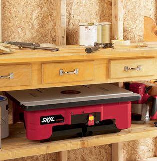 The SKIL® Router Table is convenient, functional and easy ...