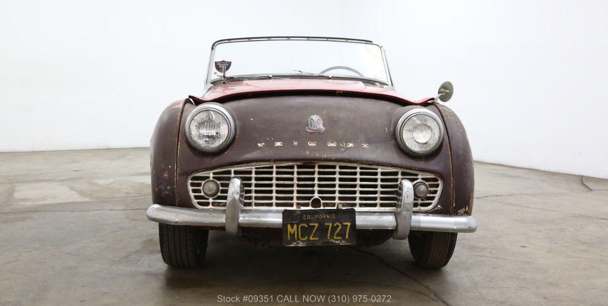 1959 Triumph TR3 Beverly Hills Car Club Beverly hills