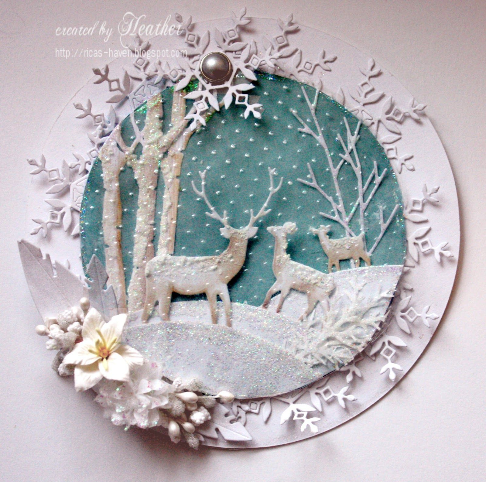 simon says ice inspiration simon wednesday challenge blog chistmas cards tags and deer. Black Bedroom Furniture Sets. Home Design Ideas
