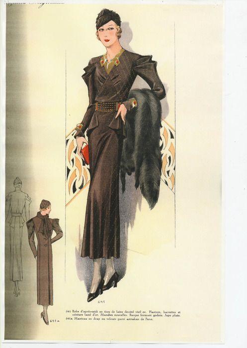 Thunderhorse Vintage! - 1930s Fashion Plates! | 1930\'s Fashion ...