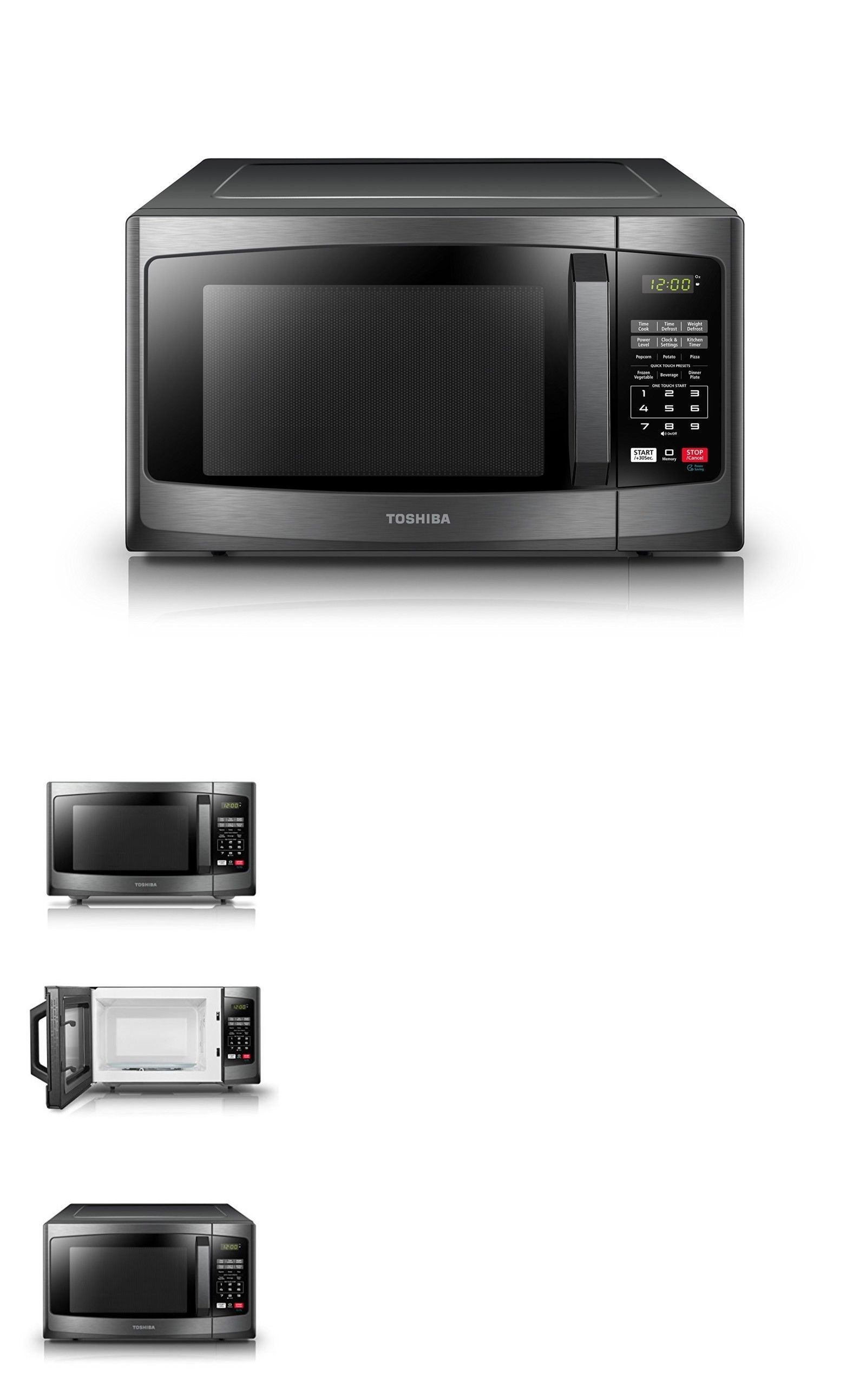 Microwave Ovens 150140 Toshiba Em925a5a Bs Microwave Oven With