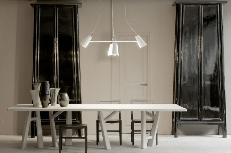 Ybu dining table christophe delcourt