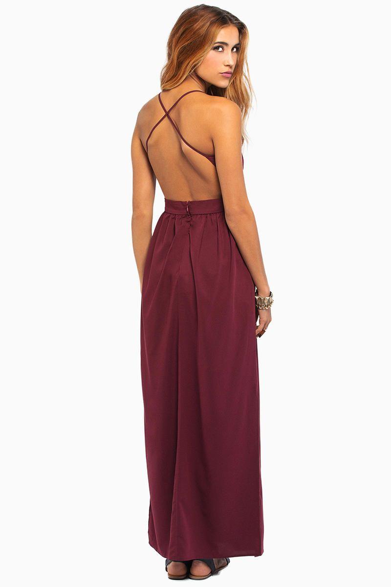 be78e1abff2 X Back Maxi Dress at Tobi.com  shoptobi