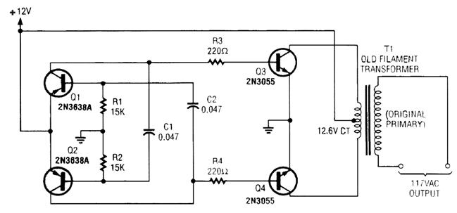 Simple Inverter Circuits For Newcomers Digital Circuit Circuit Diagram Circuit