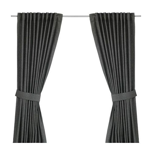 ikea ingert 2 gardinen raffhalter blickdichte gardinen schirmen lichteinfall effektiv ab. Black Bedroom Furniture Sets. Home Design Ideas