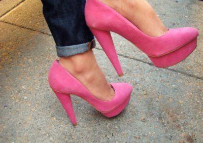 Pink Killer Heels