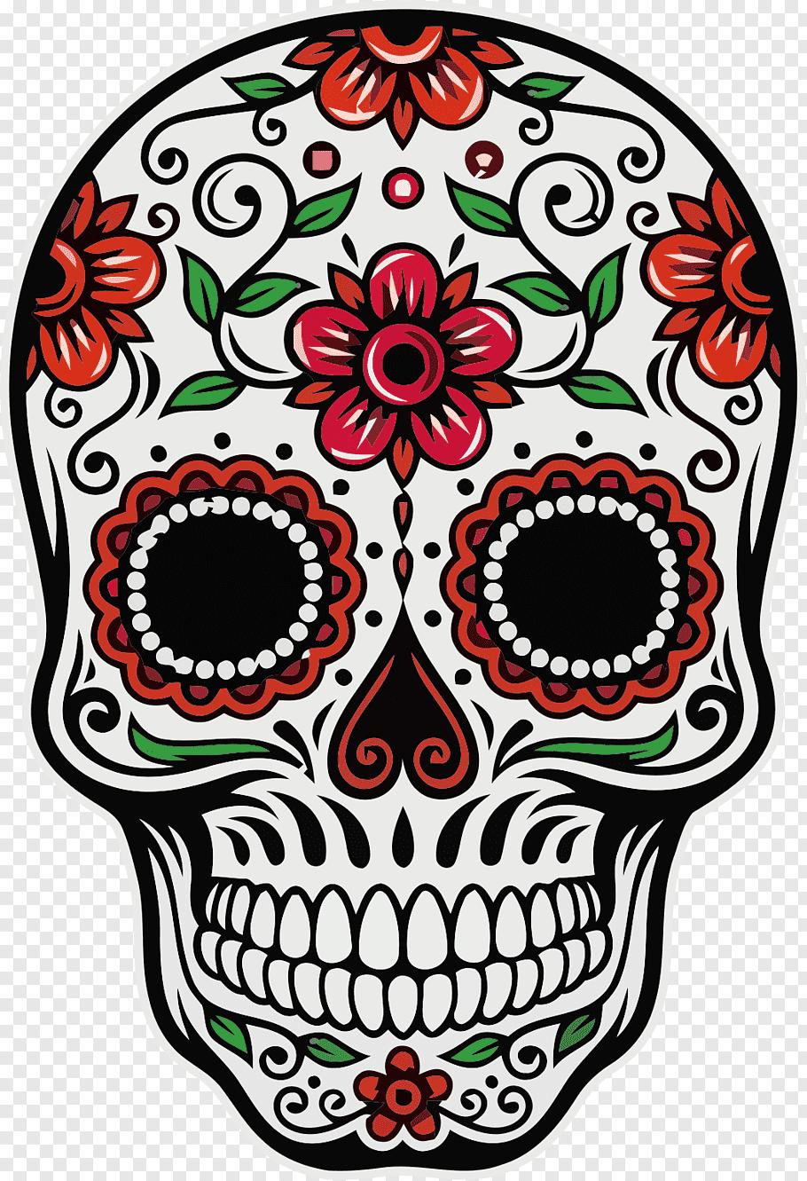 Calavera Calavera Day Of The Dead Skull Death Mexican Cuisine Skull Free Png Sugar Skull Drawing Skulls Drawing Sugar Skull Artwork
