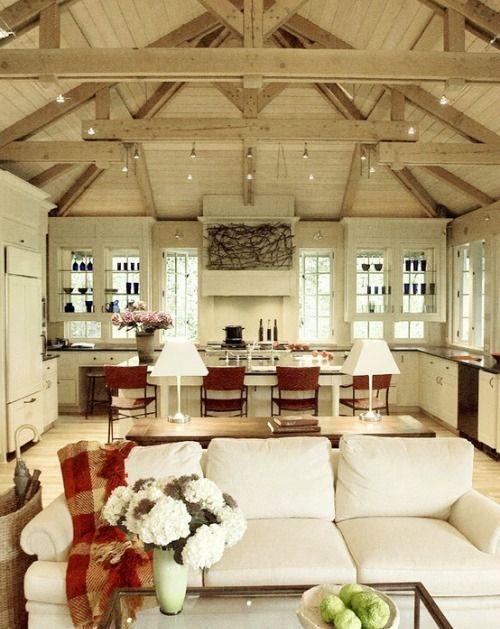 Beautifull kitchen, belle cuisine, Espace ouvert, loft, apartment - salon sejour cuisine ouverte