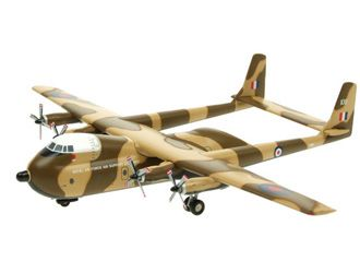 This Armstrong Whitworth AW-660 Argosy C1 Diecast Model Airplane features working propellers. It is made by Aviation 200 and is 1:200 scale (approx. 17cm / 6.7in wingspan). ...