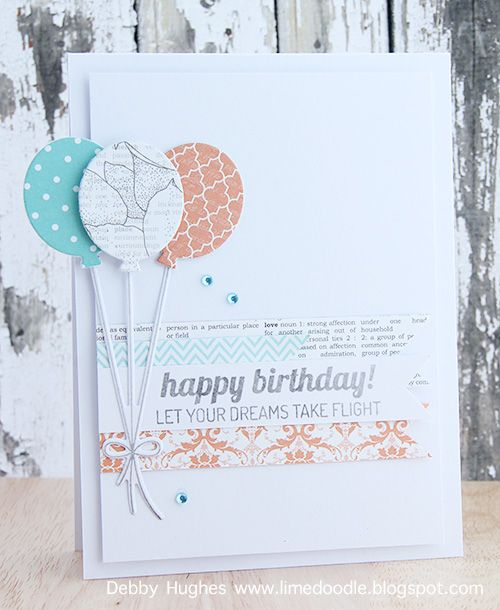 limedoodle, Lil' Inker Designs stamps and dies, birthday, card