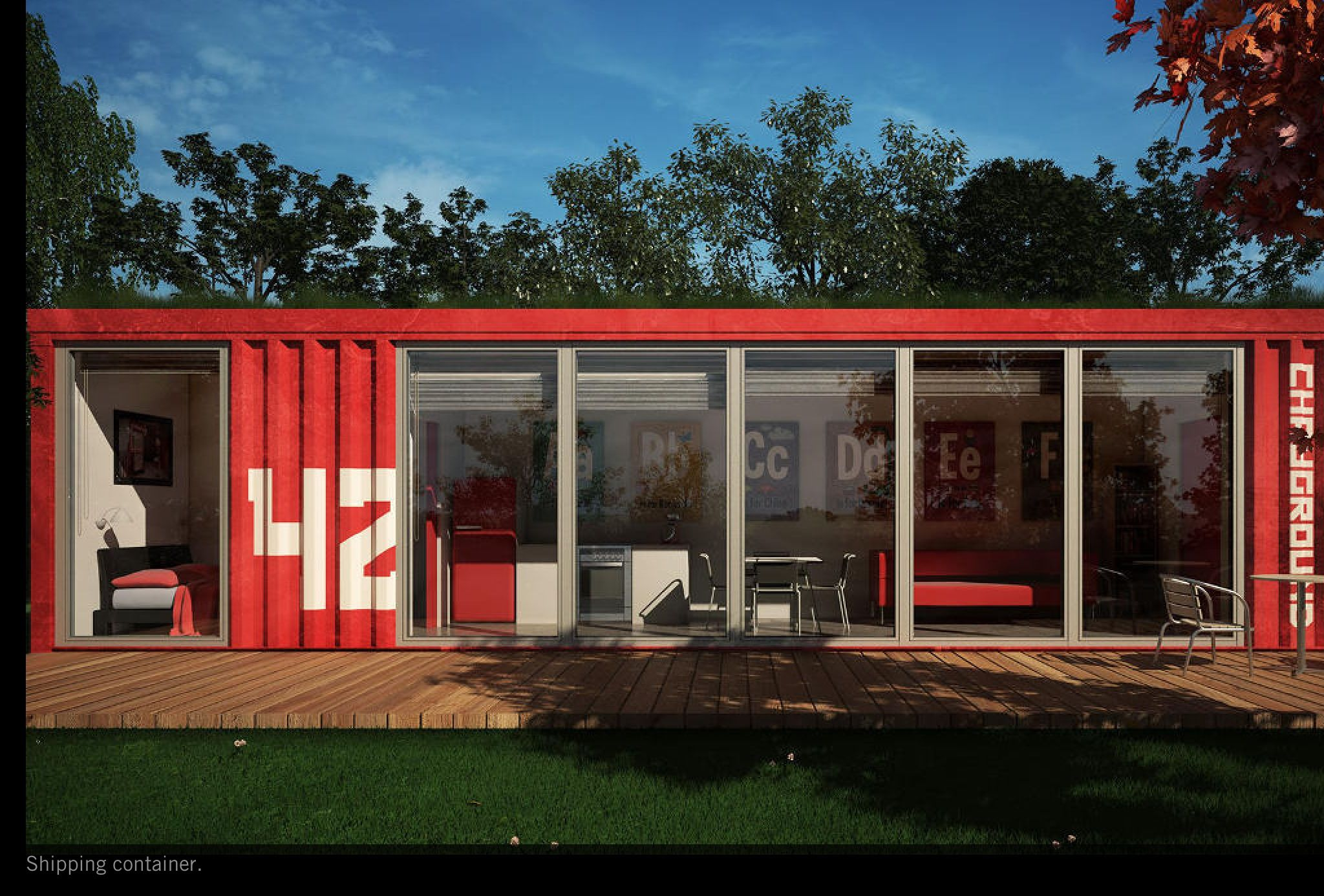 20Ft40Ft Custom Shipping Container House Home Office Cabin 557Audsquare Meter