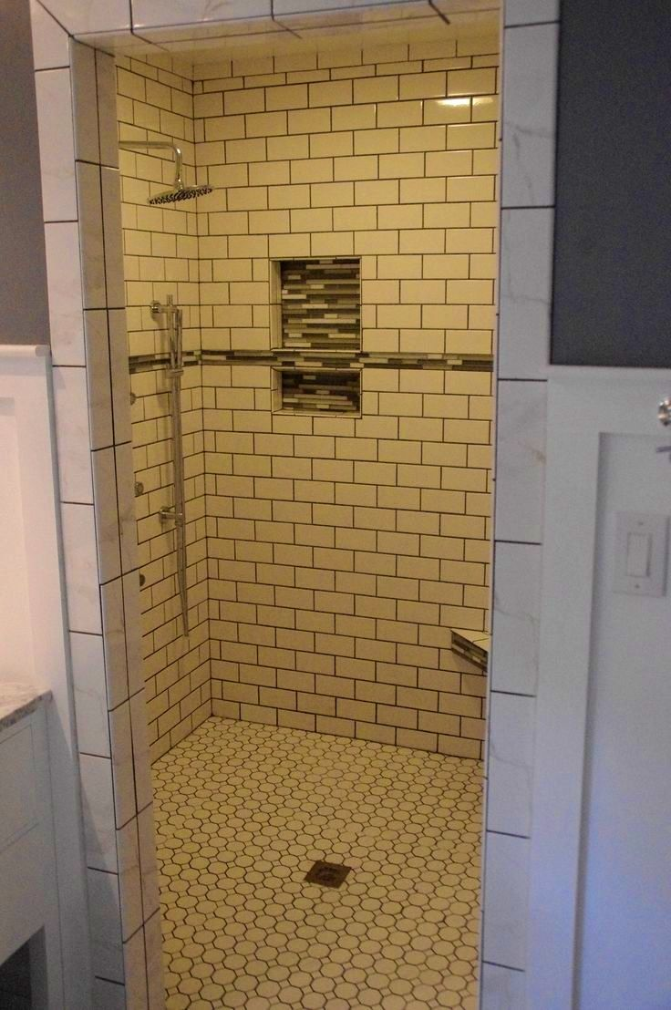 BathroomSurprising White Subway Tile Shower Glass Inserts After ...