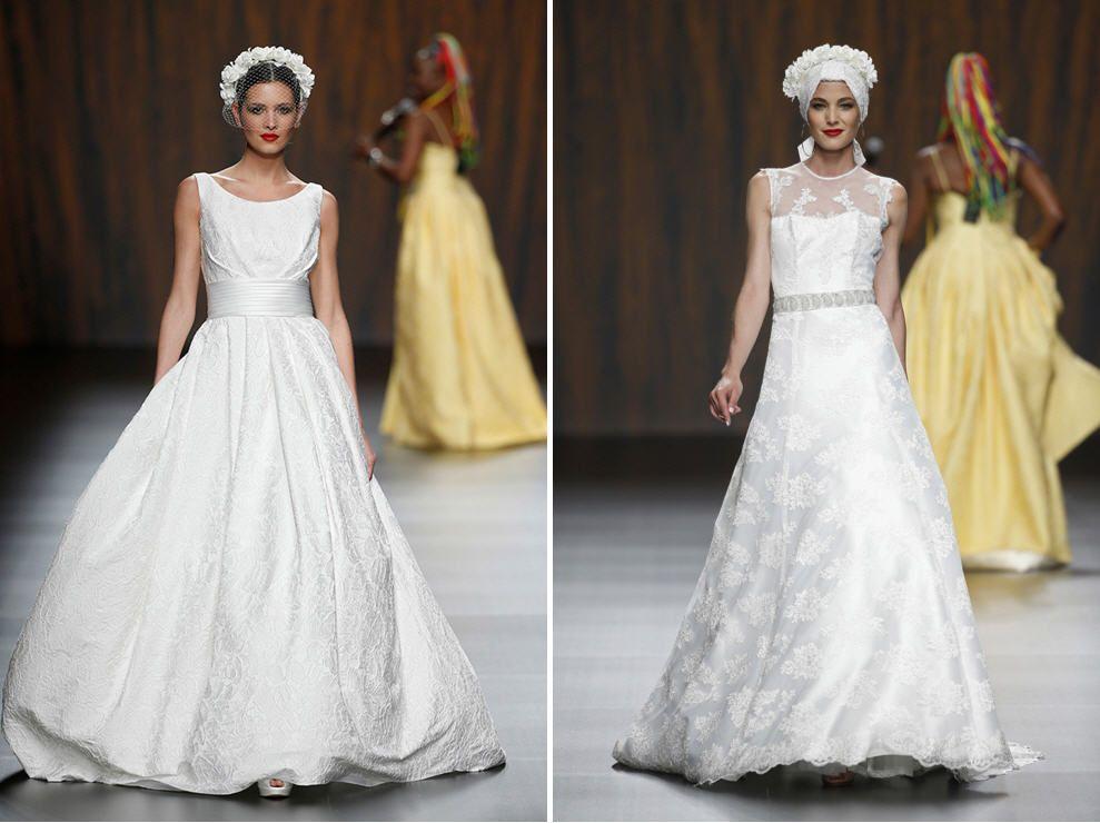 vestidos de novia de ana torres 2016 | barcelona bridal week 2015
